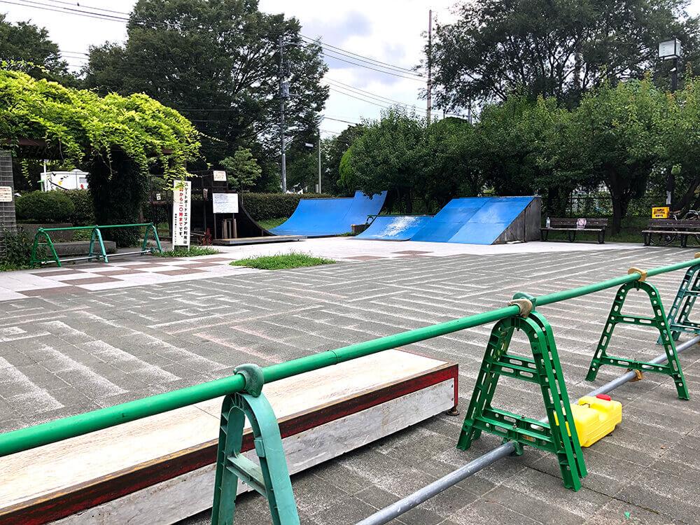 スケートパーク 祖師谷公園