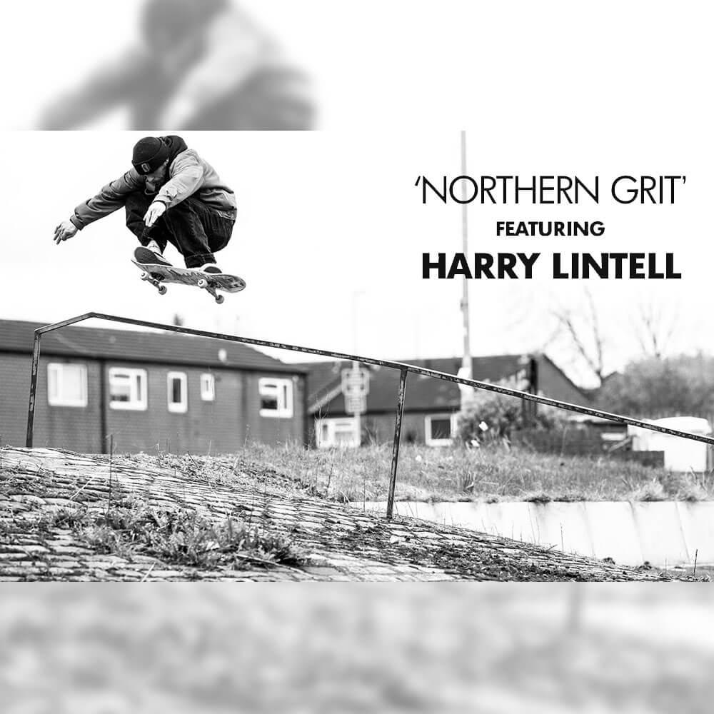 THRASHER から、HARRY LINTELL のパート映像 NORTHERN GRIT が公開