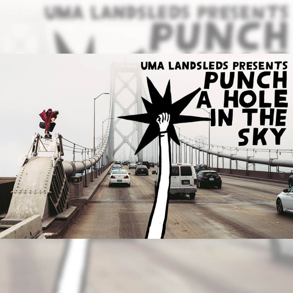 UMA LANDSLEDS から、初となるチームビデオ PUNCH A HOLE IN THE SKY が公開
