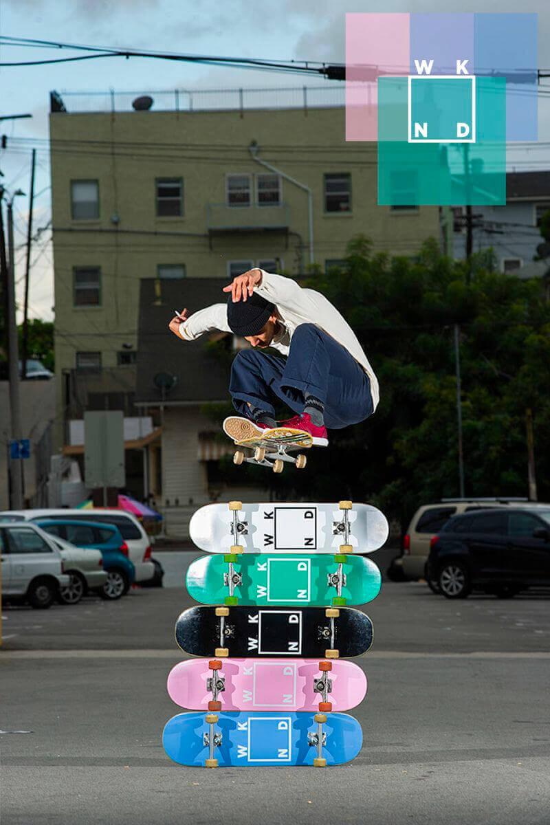 WKND(ウィークエンド スケートボード)