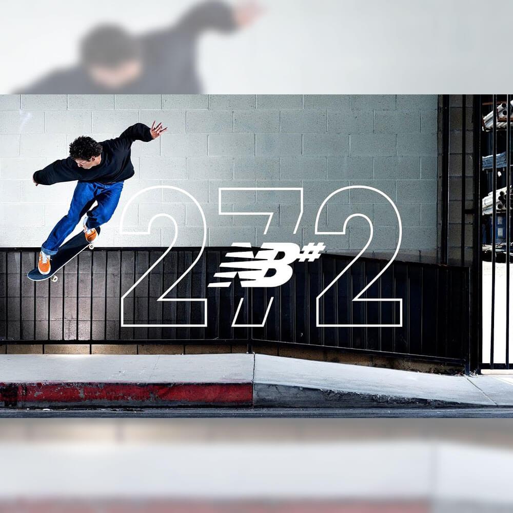 NEW BALANCE NUMERIC から、272シリーズのプロモ映像が公開