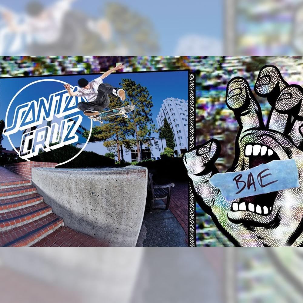 SANTA CRUZ (サンタクルーズ スケートボード) から、JEREME KNIBBS と KEVIN BRAUN をフィーチャーした作品 BAE が公開